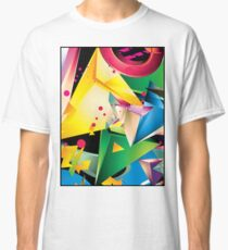 Abstract Design (Large Graphic) Classic T-Shirt
