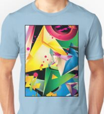 Abstract Design (Large Graphic) T-Shirt