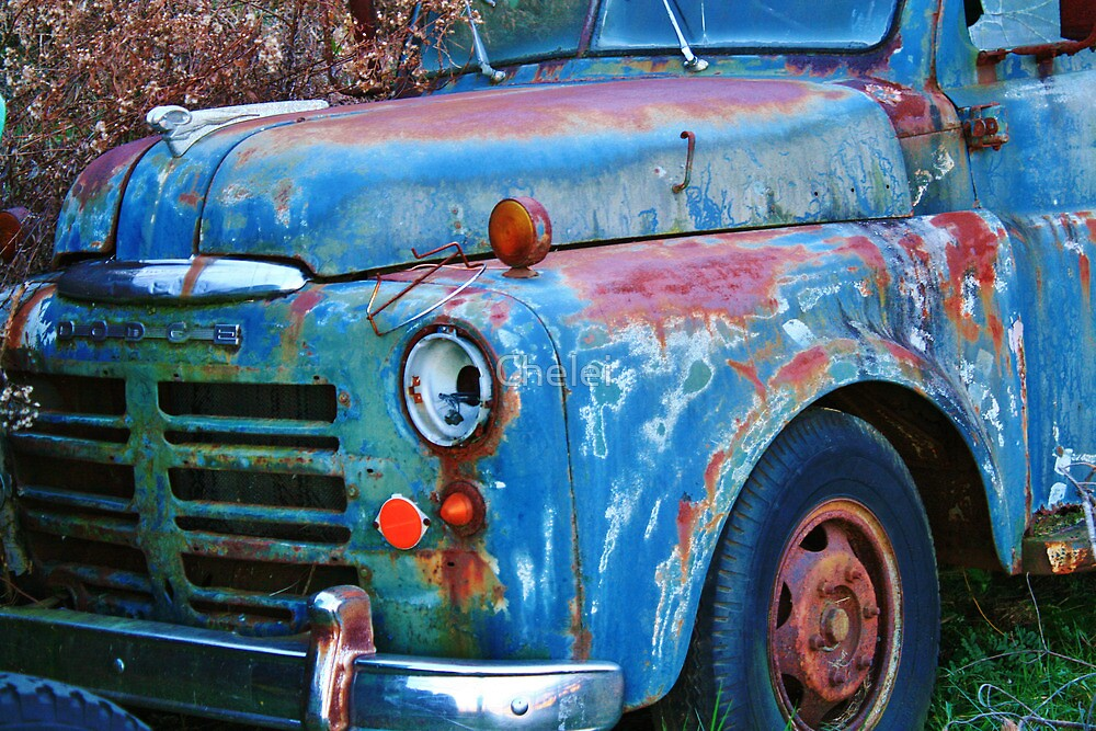 Old Dodge by Chelei