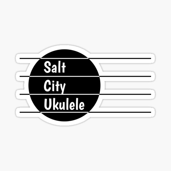 Salt City Ukulele logo Sticker