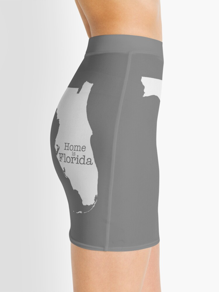 Alternate view of Home is Florida Mini Skirt