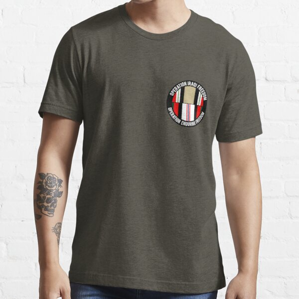 Operations Iraqi and Enduring Freedom ribbons Essential T-Shirt