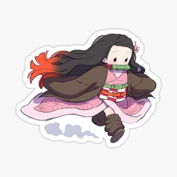 Tiny Nezuko Sticker