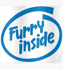 Furry Inside Poster