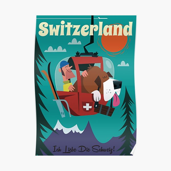 Switzerland Poster Poster