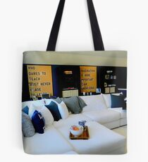 A Place to Chill......... Tote Bag