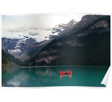 Red canoes (HDR) Poster