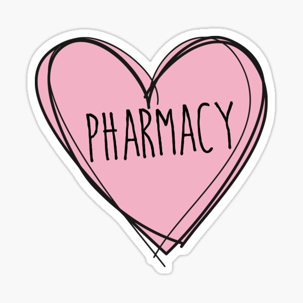Pharmacy Sticker