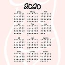 A Woman's Body | 2020 Calendar by cozyreverie