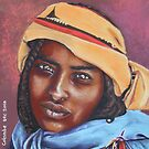 Young Sudanese man by Colombe  Cambourne