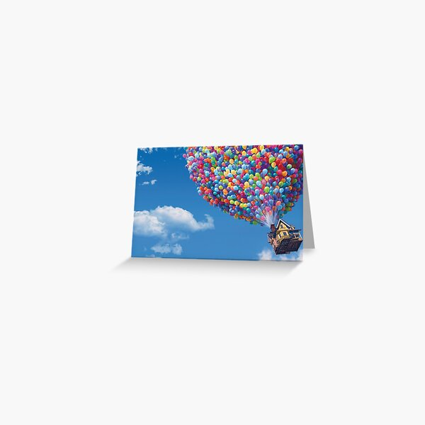 The House from Up Greeting Card
