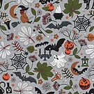 Embroidered halloween by camcreativedk