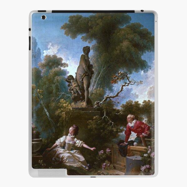 The Progress of Love - The Meeting by Jean-Honoré Fragonard iPad Skin