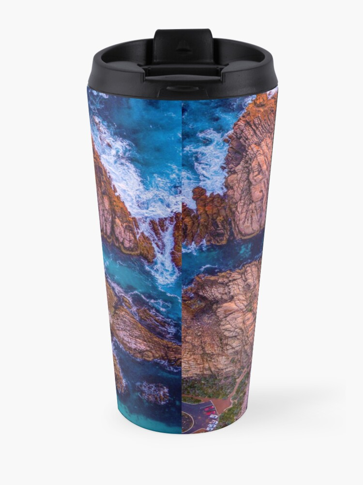 Alternate view of Canal Rocks, Western Australia Travel Mug