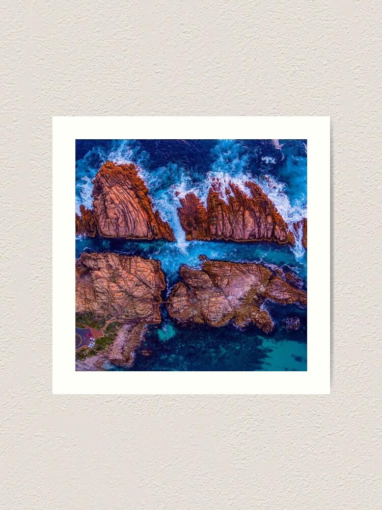 Alternate view of Canal Rocks, Western Australia Art Print