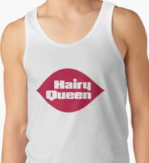 Hairy Queen Parody Logo Tank Top