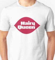 Hairy Queen Parody Logo T-Shirt