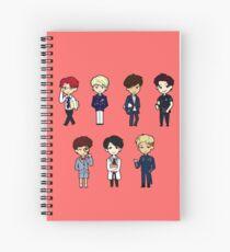 BTS - Dope/Sick Spiral Notebook