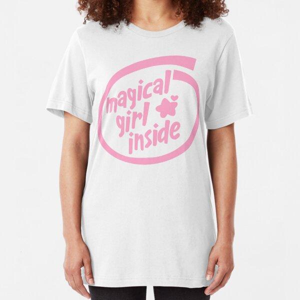 Magical Girl Inside Slim Fit T-Shirt