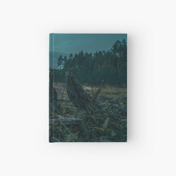 Tree Stump Hardcover Journal