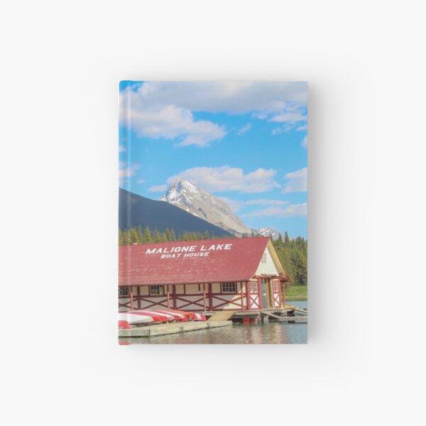 Maligne Lake in Banff Alberta Canada Hardcover Journal