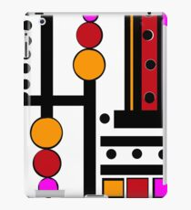 modernism red yellow pink iPad Case/Skin