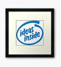 Ideas Inside Framed Print