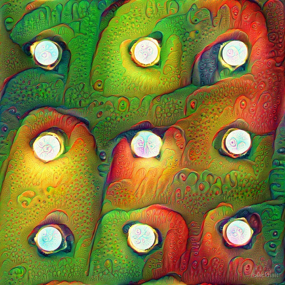 #DeepDream Lights by blackhalt