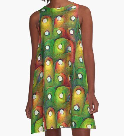 #DeepDream Lights A-Line Dress