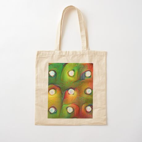 #DeepDream Lights Cotton Tote Bag