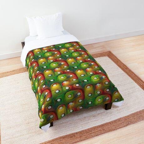 #DeepDream Lights Comforter