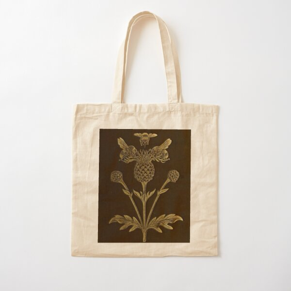 Bee And Thistle Cotton Tote Bag