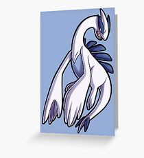 Lugia Greeting Card