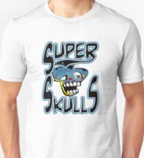 super skulls logo tshirt by tron2010 T-Shirt