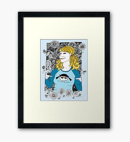 Margot Revisited Framed Print