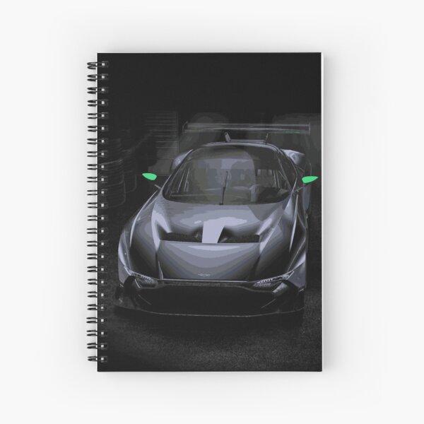 Aston Martin Vulcan Race Car Spiral Notebook