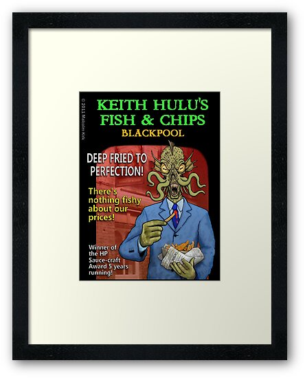 Keith Hulu's Fish & Chips by Malcolm Kirk