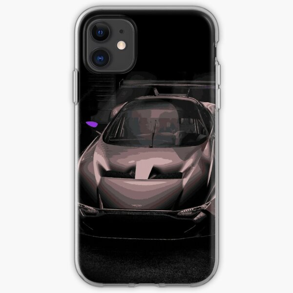 Aston Martin Vulcan Race Car iPhone Soft Case