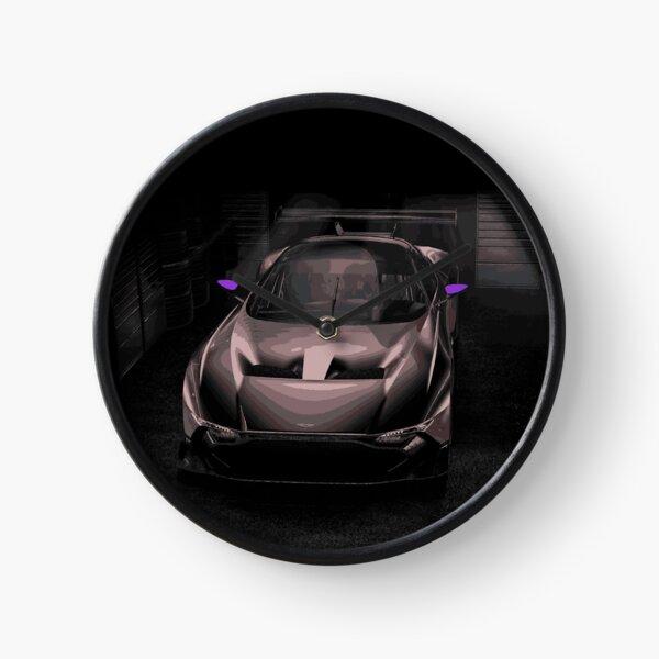 Aston Martin Vulcan Race Car Clock
