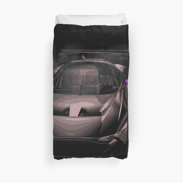 Aston Martin Vulcan Race Car Duvet Cover