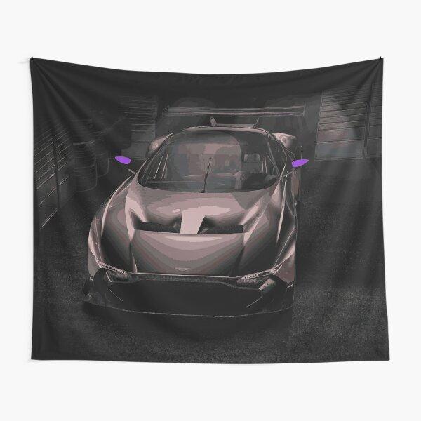 Aston Martin Vulcan Race Car Tapestry