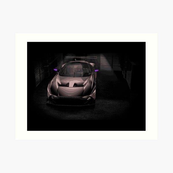 Aston Martin Vulcan Race Car Art Print