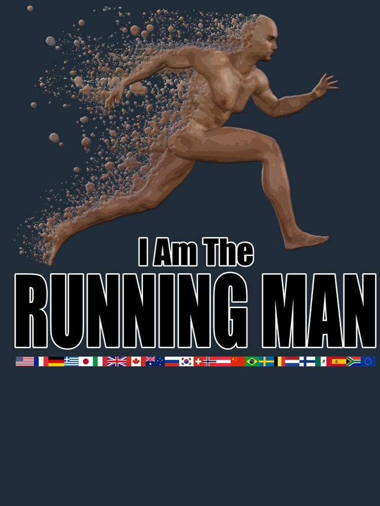 Running Man by andyrenard