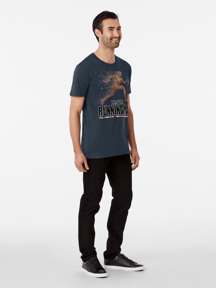 Alternate view of Running Man Premium T-Shirt