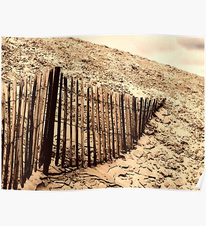 Fence - Dune of Pilat Poster