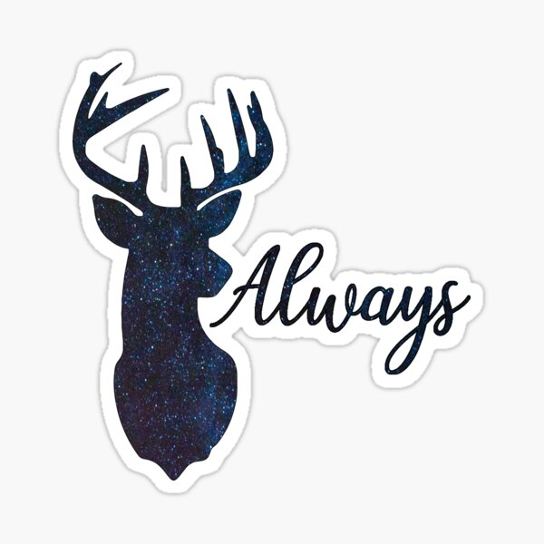 After all this time - Always Severu Snape Quote Sticker