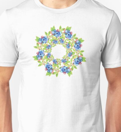 Swirling Maine Blueberries T-Shirt