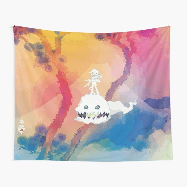 Kid See Ghosts Cover Tapestry
