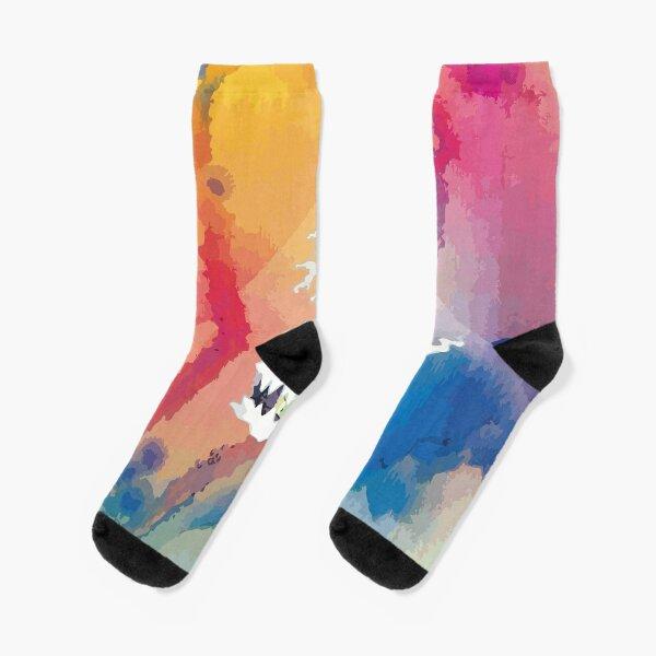 Kid See Ghosts Cover Socks