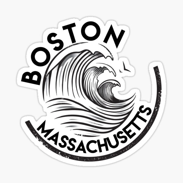Boston Massachusetts  Sticker